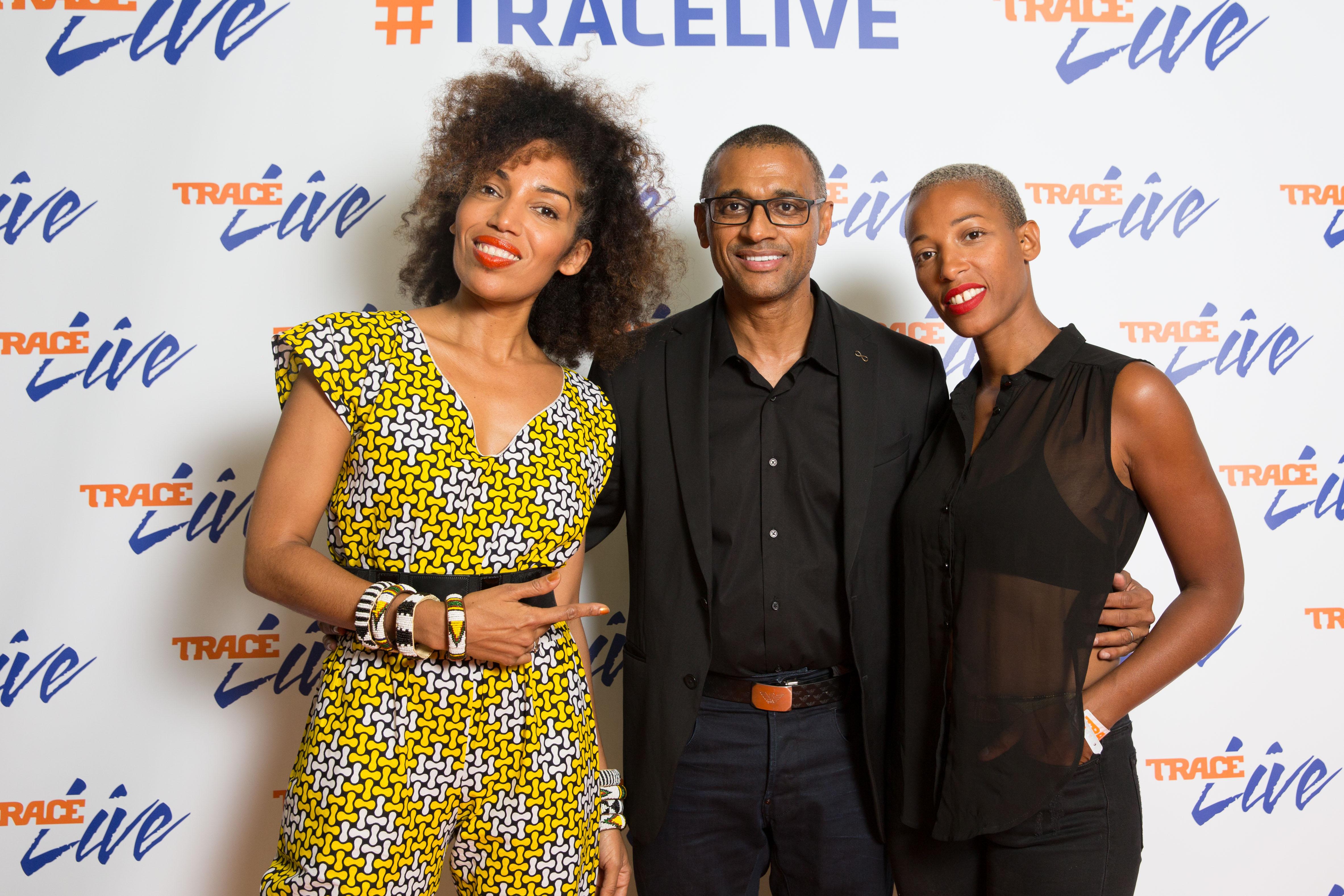 Ayden, Olivier Laouchez et Myriam Maxo _Wyclef_Jean_TRACE_LIVE_13_06_2017 © Memorable Event